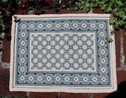 Avlea Folk Embroidery Aegean Octagon Table Mat - Downloadable PDF