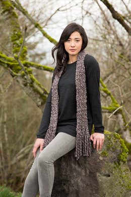 Breakaway Scarves in Imperial Yarn Lariat - C51 - Downloadable PDF
