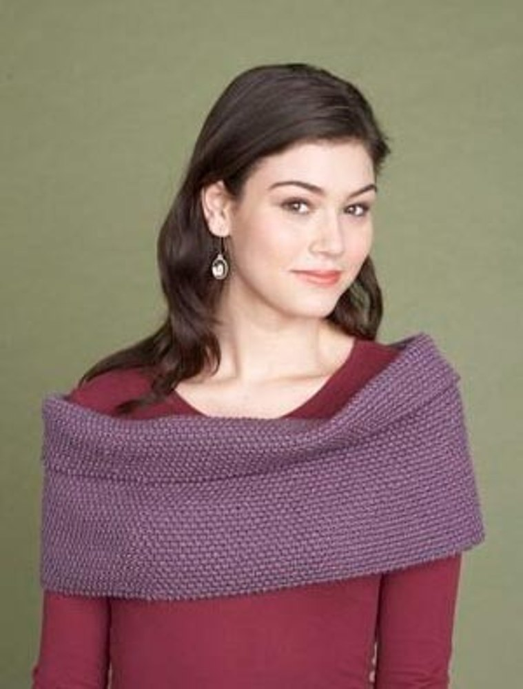 Shoulder Wrap in Lion Brand Vannas Choice - 60732A Knitting Patterns ...