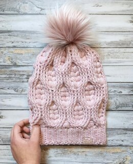 The Woven Hearts Beanie