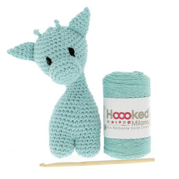 Hoooked DIY Kit - Giraffe Eco Barbante