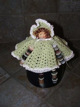 Southern Belle Button Doll