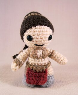 Slave Leia - Mini Star Wars Amigurumi