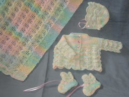 Rainbow Layette