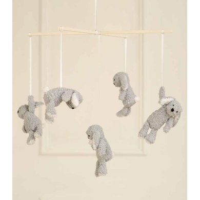 Children's Mobile in Rico Baby Classic DK and Baby Teddy Aran - 204