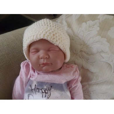 Baby Snow Swirl Hat Quick And Easy Crochet Pattern For Beginners