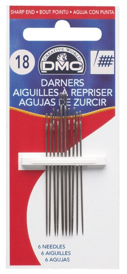 DMC Box of 7 Darning Needles (18)