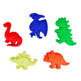 Dress It Up Buttons Prehistoric Pets
