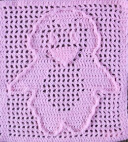 Baby Penguin Filet Blanket