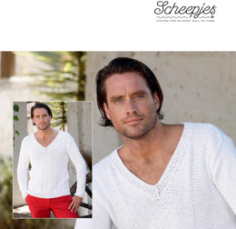 Men's Pullover in Scheepjes Cotton 8 - 5805