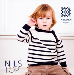 Boys' Nils Top in MillaMia Merino Wool