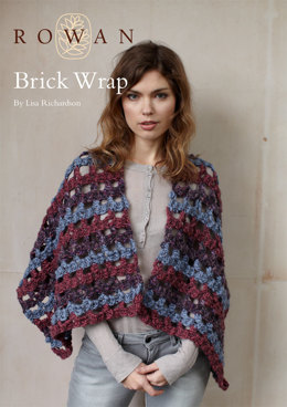 Brick Wrap in Rowan Thick 'n' Thin