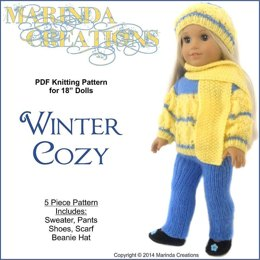 Winter Cozy Knit for AG and 18'' Dolls