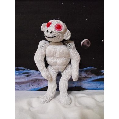 Arnie the Albino Alien Android Ape