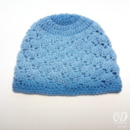 Ocean Sea Shells Hat