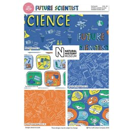 Visage Textiles Natural History Museum Future Scientist Fat Quarter Bundle - Multi
