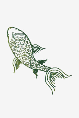 Koi fish  in DMC - PAT0535 -  Downloadable PDF