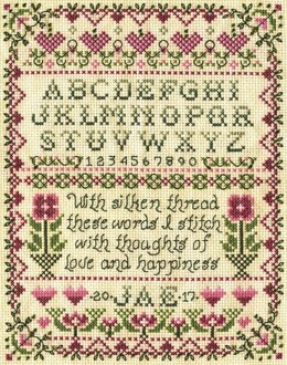 Design Works Stitcher Sampler Cross Stitch Kit