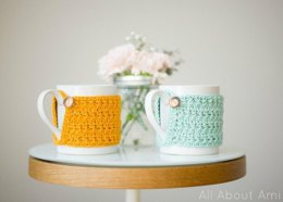 Star Stitch Cup Cozy