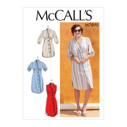 McCall's Misses' Tunic and Dresses M7890 - Sewing Pattern