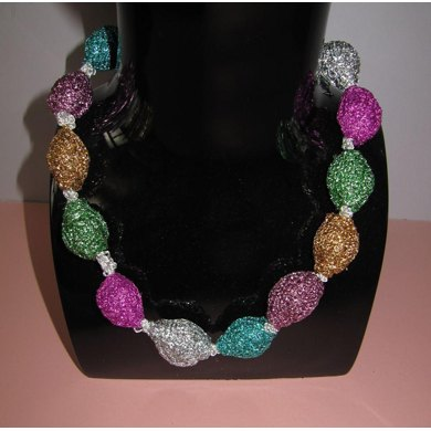FREE Glitter Bead Necklace