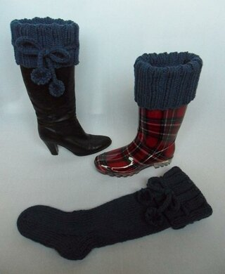 famous brand super cheap separation shoes Long Knee High Chunky Boot Socks Knitting pattern by Laineknits