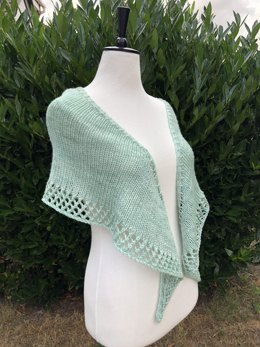 Pebble and Beach Shawl