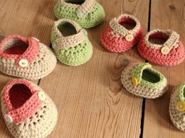Baby Buckle Shoes