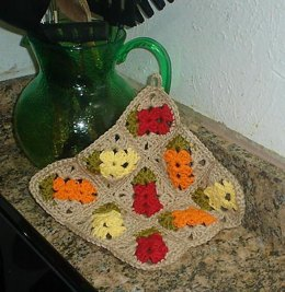 Chile Pepper Dishcloth