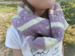 """The """"Nordic"""" infinity scarf French version"""