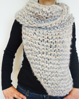 Easy Knit Katniss Cowl