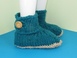 Super Chunky One Button TV Slipper Boots