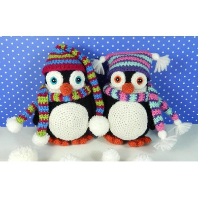 Pendleton and Penelope Penguin