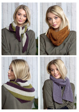 Shawl, Scarf & Snood in King Cole - 5016 - Leaflet