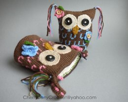 Owl Toy or Bag Crochet Pattern