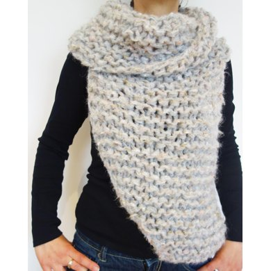 Easy Knit Katniss Cowl Knitting Pattern By Camexiadesigns