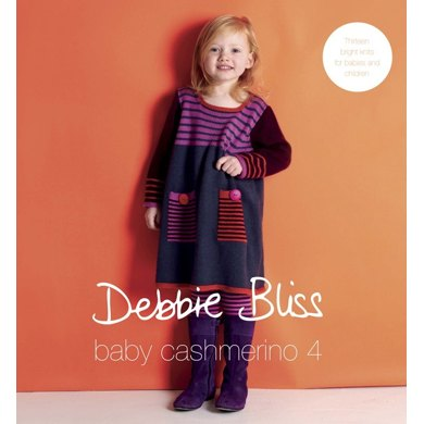 Baby Cashmerino Book 4 by Debbie Bliss
