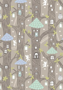 Lewis & Irene Fairy Lights -Fairy Houses Natural Cut to Length