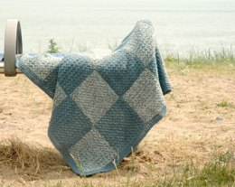 Beach Denim Blanket