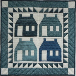 Rachel's Of Greenfield Houses Quilt Kit
