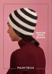 Winter Frost Beanie in Paintbox Yarns Simply Aran