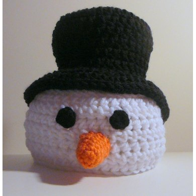 Snowman Hat Top Hat Crochet Pattern By Heather Sonnenberg