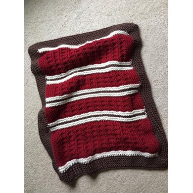 Mountain Cabin Baby Blanket Loom Knitting Knitting Pattern By Dayna