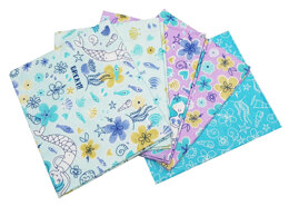 Visage Textiles Under The Sea Fat Quarter Bundle - Multi