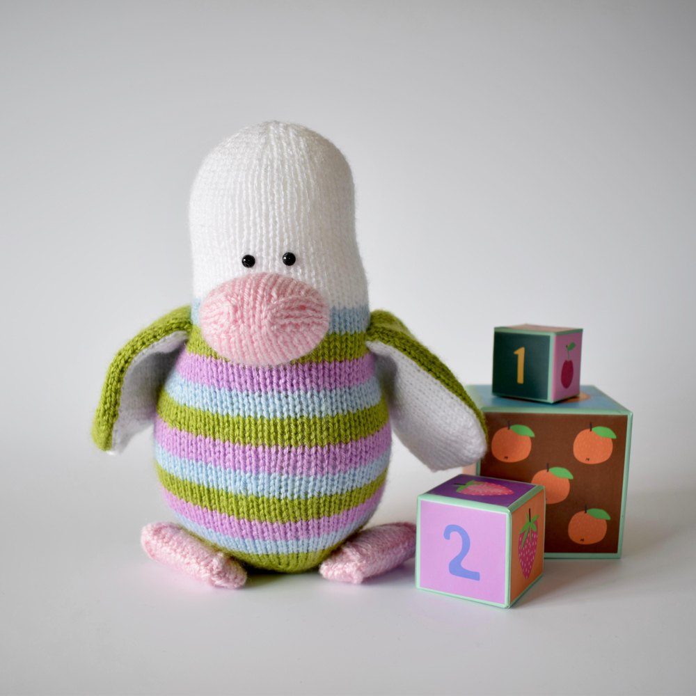Stripes the penguin knitting pattern by amanda berry knitting zoom bankloansurffo Images