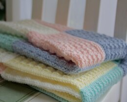 Colour-Mix Baby Blanket