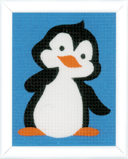 Vervaco Long Stitch Kit: Penguin