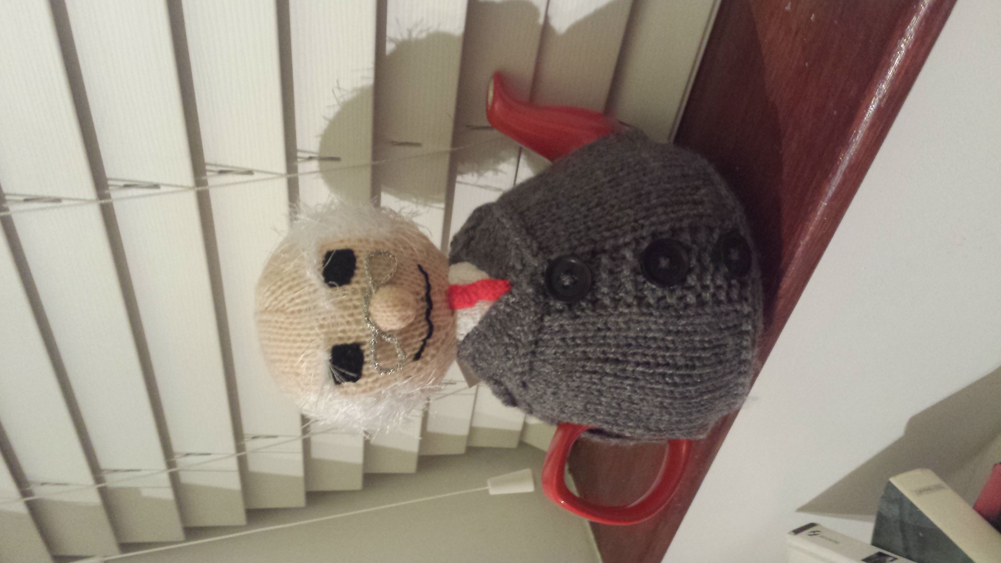 President Michael Tea Higgins tea cosy knitting project by ...