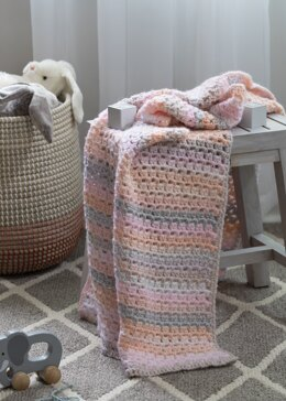 Aria Baby Blanket in Premier Yarns - Downloadable PDF