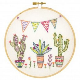 Un Chat Dans L'Aiguilles Mexiiiiico! Contemporary Embroidery Kit - 15